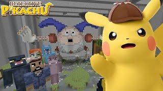 Minecraft XBOX - Hide and Seek - POKÉMON Detective Pikachu