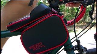Unboxing, Test und Review: Fahrrad-Handy-Tasche von Weberkoch