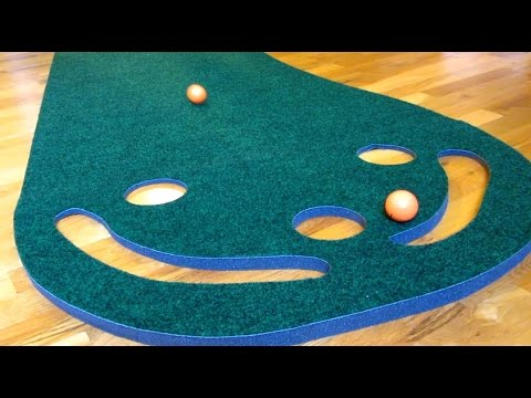 Best Indoor Golf Putting Mat Green by Putt-A-Bout