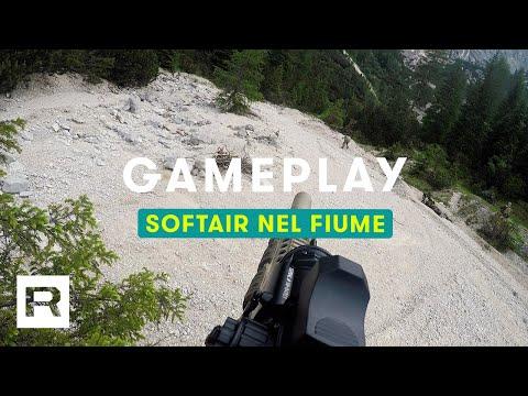 Partita nel Fiume | Softair Gameplay • Canazei
