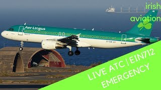 Real World ATC | EIN712 returned to Cork | Fumes in cockpit