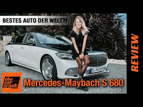 Mercedes Maybach S-Klasse (2021) Das BESTE Auto der Welt?! 🤩 Fahrbericht   Review   V12   S 680