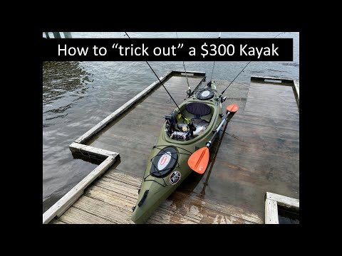 Future Beach 126 Fishing Kayak – Installed Accessories