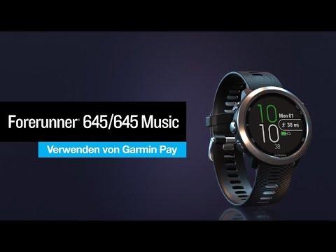 Garmin Forerunner 645 (42mm, Kunststoff)