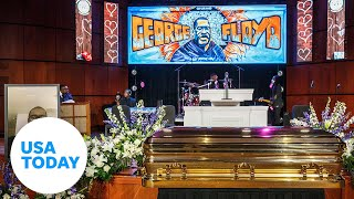 Reverend Al Sharpton is delivering the eulogy at George Floyd's memorial service at North Central University in Minneapolis. RELATED: George Floyd remembered as 'gentle giant' by friends https://www.youtube.com/watch?v=12f2Fa0XPAQ&t=4s   Along with family and friends, celebrities, civil rights leaders and politicians are expected to attend the memorial service for Floyd.   Ten days after Floyd's death, the nation is still reeling from the blatant injustice the viral video of the confrontation appears to show. Floyd died on Memorial Day after Derek Chauvin knelt on his neck for almost nine minutes while Floyd pleaded that he could not breathe. Protests across the U.S. remained large but were more subdued Wednesday night.  » Subscribe to USA TODAY: http://bit.ly/1xa3XAh » Watch more on this and other topics from USA TODAY: https://bit.ly/2IMPbAh » USA TODAY delivers current local and national news, sports, entertainment,  finance, technology, and more through award-winning journalism, photos, videos and VR.  #georgefloyd #floydmemorial #usatoday