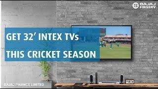 Intex 32 inch LED TVs on EMIs
