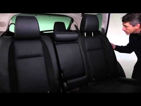 2013 CX-9 Second and Third Row Seats Tutorial