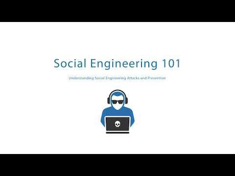 Social Engineering 101 - Understanding Social Engineering Attacks and Prevention