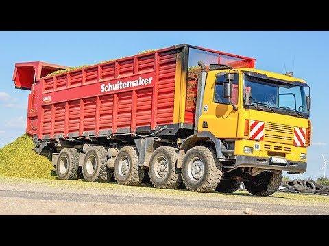 JOHN DEERE 7350i Maishäcksler | GINAF LKW Trucks | John Deere Tractors | AgrartechnikHD