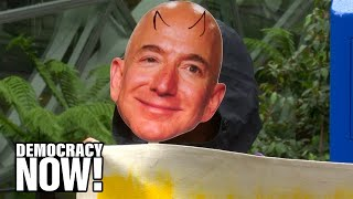 Amazon Workers Demand Fair Pay & Conditions as Company Continues Undercutting Rivals