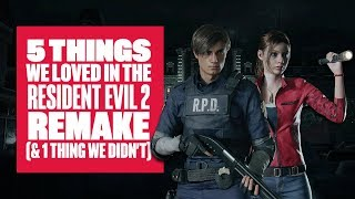 5 Things We Loved About Resident Evil 2 Remake (And 1 Thing We Didn't) RE2 Remake Gameplay
