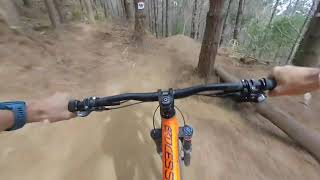 Insta360 EVO 180 3D VR-MTB Jump Track at Woodhill Bike park NZ
