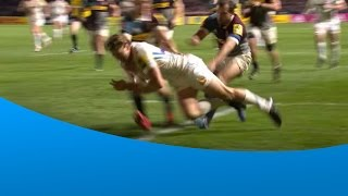 VIDEO Watch this brilliant TRY from Exeter Chiefs Official and Qantas Wallabies