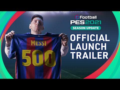 Official Launch Trailer de eFootball PES 2021 Season Update