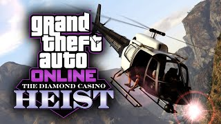 How to Use a Helicopter in the Casino Heist (Any Approach) - GTA Online