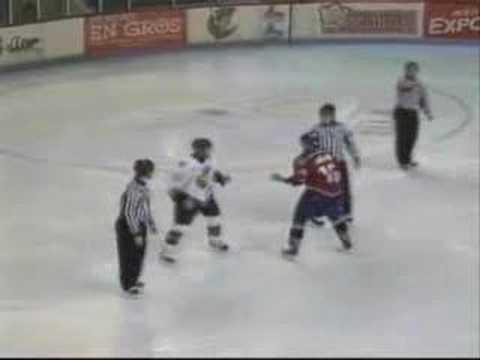Mathieu Milse vs. Brad Gallant