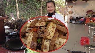 9 girl's secret dried tofu, plus chili directly into Hunan cuisine