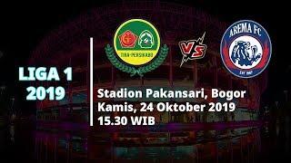 VIDEO: Live Streaming Liga 1 2019 Tira Persikabo Vs Arema FC Kamis (24/10) Pukul 15.30 WIB
