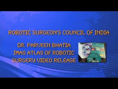 IMAS Video Atlas of Robotic Surgery Release