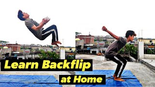 how to learn backflip at Home - How to Backflip / In Just 3 Min 🔥