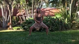 Costa Rica Dancing Goddess Pose