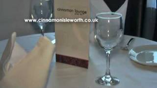 preview picture of video 'Cinnamon Lounge Indian Restaurant, Bar & Lounge, Isleworth, London Borough of Hounslow'