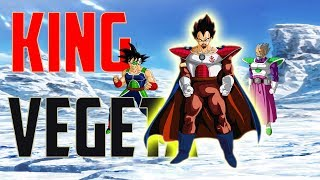 KING Vegeta BARDOCK And Planet Vegeta: Dragon Ball Super Broly Movie 2018