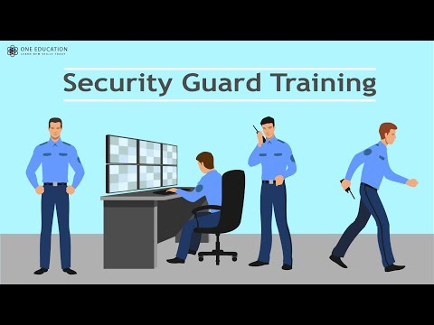 Security Guard Training - YouTube