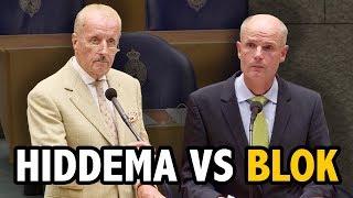Hiddema (FVD) vs Blok (VVD) over uitzetten asielzoekers