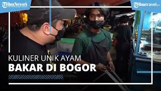 Unik! Warung Ayam Bakar di Bogor, Bakar Ayam Pakai Pedang