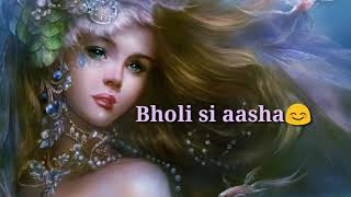 Dil hai chota sa female version//whatsapp status//mdsunshine😇😇