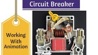 Circuit Breaker Animation & Working.