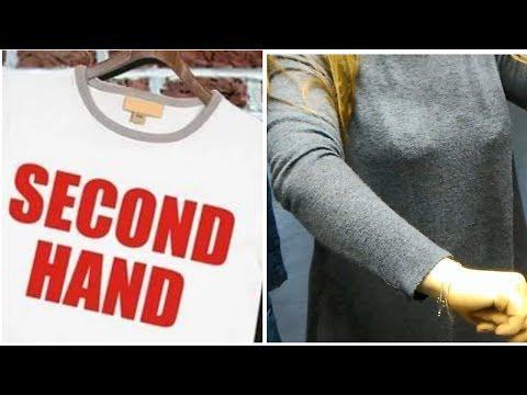 Тряпье в СЕКОНД ХЕНД / растянутые вещи и катышки / SECOND HAND уже не тот?