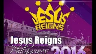 The Host For All Seasons' Voice-over for Jesus Reigns AVP Intro at Quirino Grandstand 11.30.2016