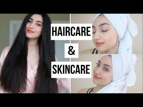 WINTER HAIRCARE & SKINCARE ROUTINE (Whole Food's Haul)!
