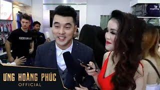 Ưng Hoàng Phúc tham gia event khai trương thương hiệu thời trang thể thao tại TPHCM