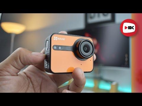 Review EZVIZ S1c Action Camera