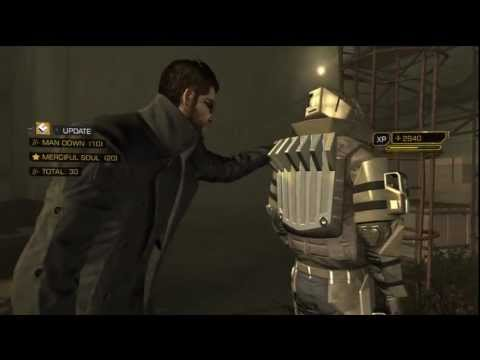 Deus Ex Human Revolution saving Malik pacifist no kill run on Give Me Deus Ex hardest difficulty