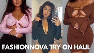 Fashion Nova TRY ON Haul! | The BEST one yet
