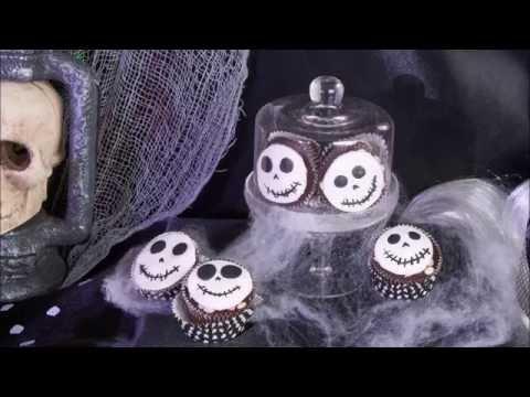 Rezept Skelett Cupcakes für Halloween