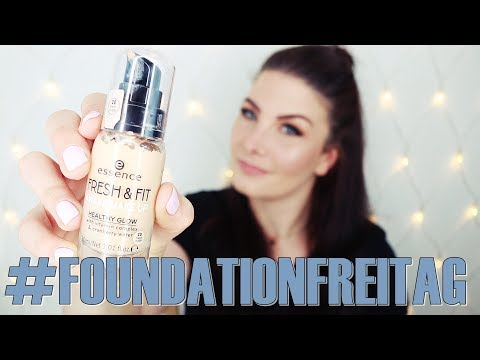 Essence -  FRESH & FIT AWAKE MAKEUP  #FOUDATIONFREITAG