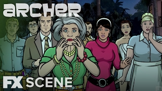 Holy Sh*tsnacks! | Season 7 Episode 10 Scene | Archer