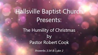 Sermon, The Humility of Christmas