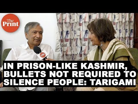 In a prison like Kashmir, bullets not required to silence people : J&K MLA Tarigami