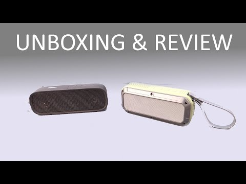 , title : 'AUKEY SK-M7 & SK-M8 Wireless Bluetooth Speakers [Unboxing & Review]'