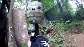 preview picture of video 'First Game(Rnd2) The Village @ Liberty Paintball 7.27.2013'