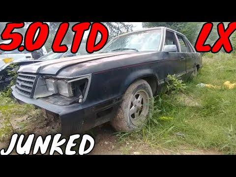 1985 Ford LTD LX Junkyard Find