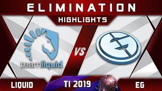 Liquid vs EG TI9 [TOP 4] $2,000,000 The International 2019 Highlights Dota 2