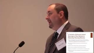 Session 3 - Legal Issues and the Church - Matt Vega