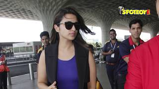 SPOTTED: Parineeti Chopra and Bipasha Basu at the Airport | SpotboyE